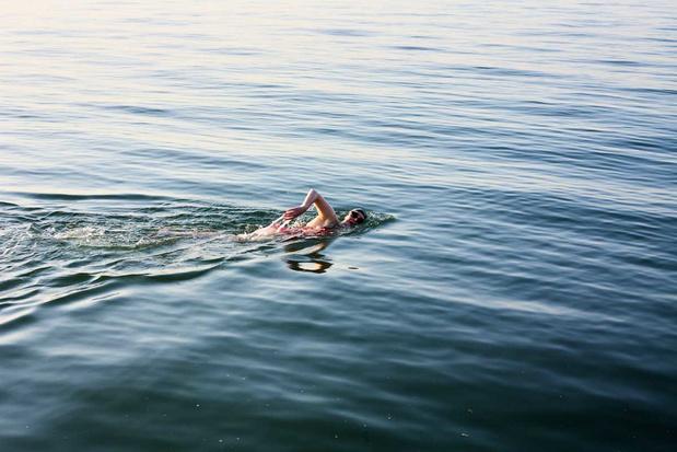 'Zwemliefde in tijden van corona: ik snak naar water'