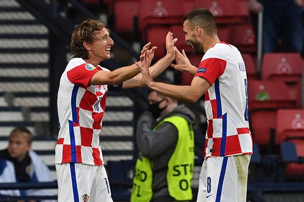 Engeland wint groep D, ook Kroatië en Tsjechië stoten door