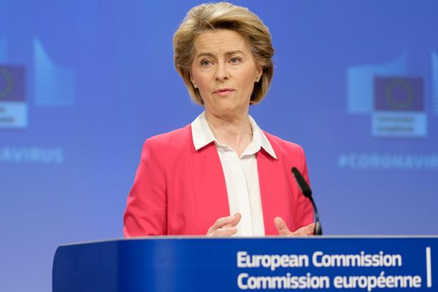 Europese Commissie stelt herstelfonds van 750 miljard euro voor