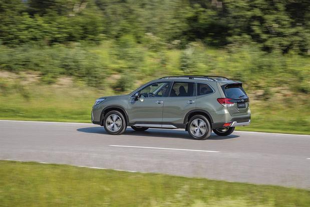 La Subaru Forester: hybride, mais pas trop...