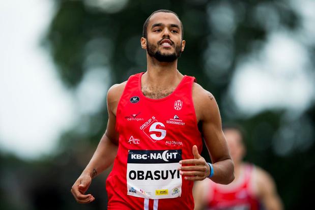 """Atleet Michael Obasuyi voor het eerst verkozen tot Sportman van het Jaar in Oostende: """"Klaar voor de wereldtop"""""""