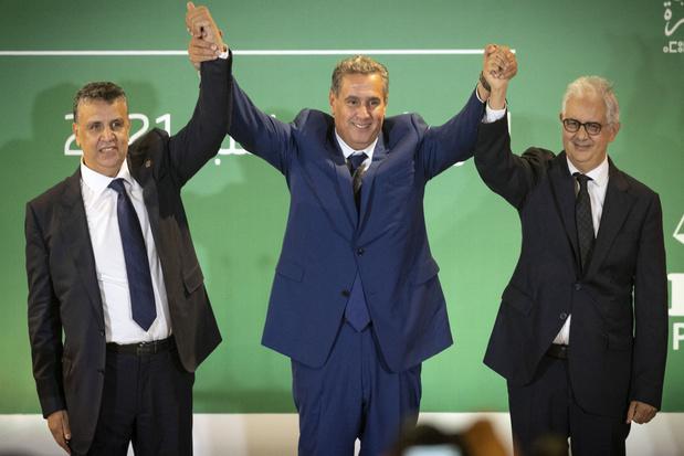 Drie partijen bereiken regeerakkoord in Marokko