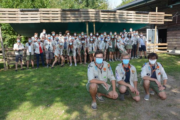 Groepsfeesten Scouts Parsifal in Rumbeke