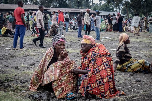 Tienduizenden mensen op de vlucht uit Goma