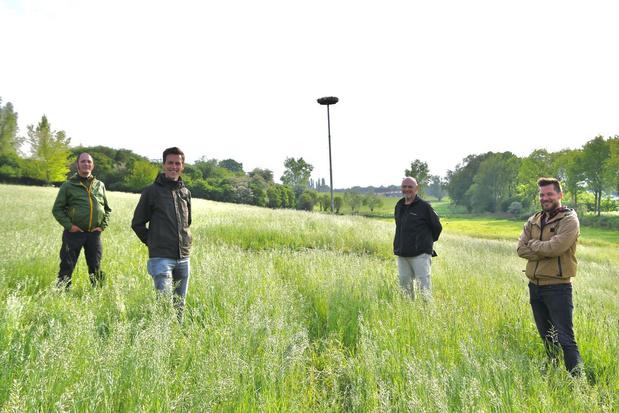 Trio volgt Bert Van Dierdonck van natuurgebied 't Schrijverke in Marke op