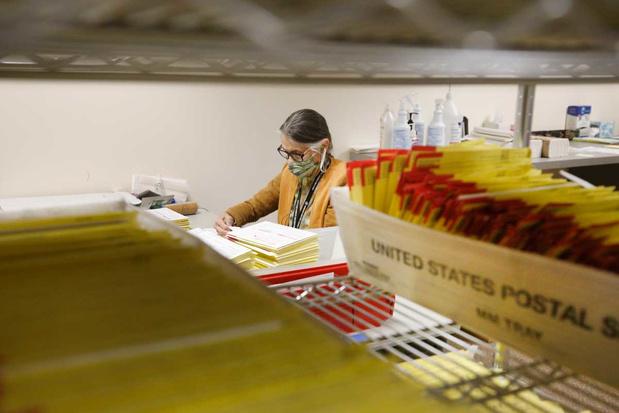 Amerikaanse postdienst moet briefstembiljetten zoeken, maar mist deadline van rechtbank