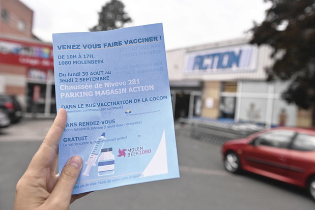 Si tu ne viens pas à la vaccination, la vaccination ira à toi