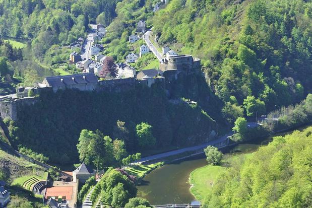 Wandelen langs kastelen in Wallonië
