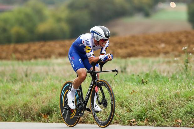 Yves Lampaert hoopt op 95 procent van zijn capaciteiten te rijden tijdens de klassiekers