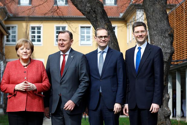 Merkel noopt regeringscommissaris tot aftreden na saga in Thüringen
