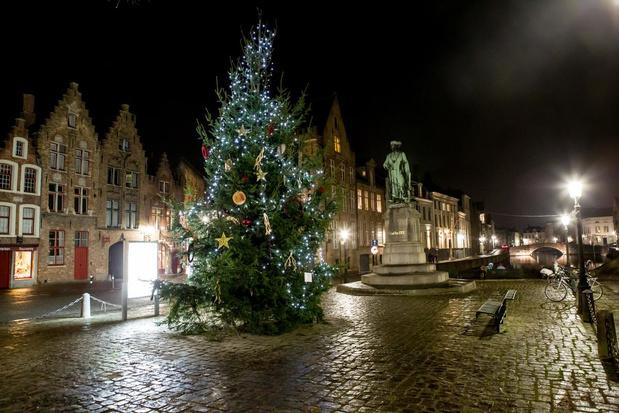 Dure steunblokken voor Brugse kerstbomen