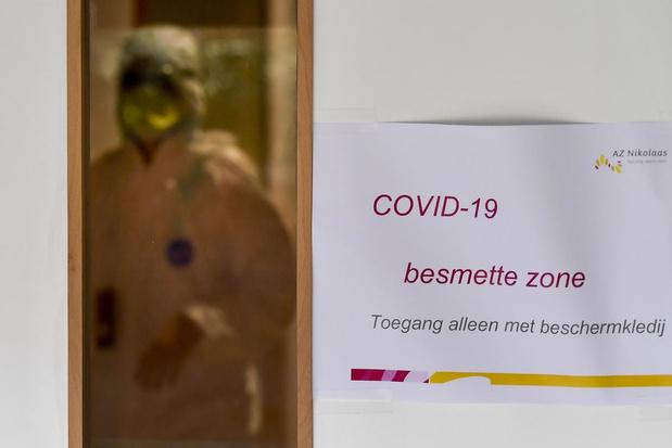 64 nieuwe doden in België, 789 mensen op intensieve zorgen