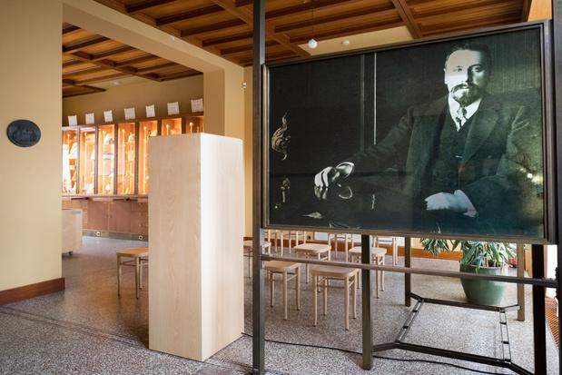 Horta Museum stelt tekenatelier van Victor Horta definitief open voor het publiek