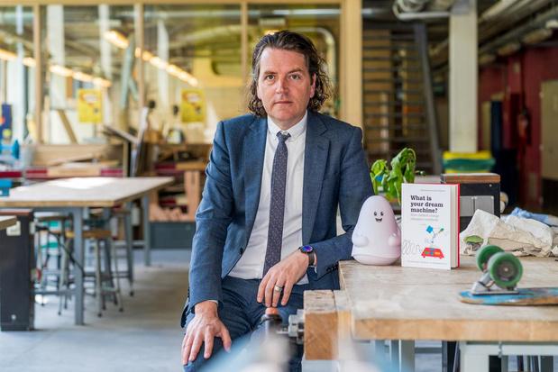 Piet Grymonprez van Howest Kortrijk verkozen tot beste onderwijsvernieuwer ter wereld