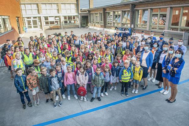 Leerlingen OKIDO Westrozebeke vliegen het nieuwe schooljaar in