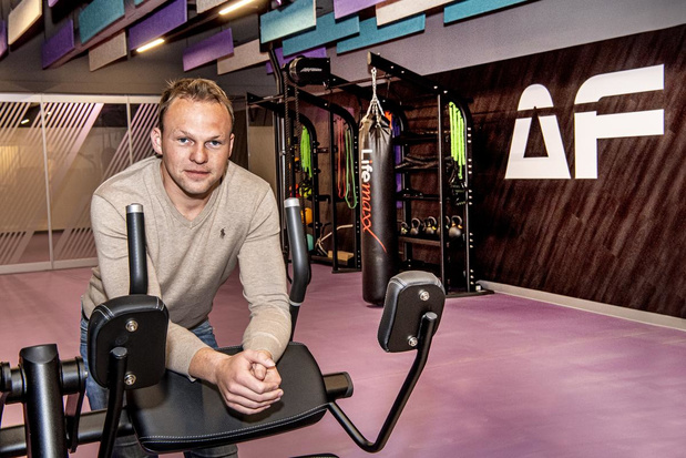 Robin opent Anytime Fitness in gebouw van supermarkt in Staden