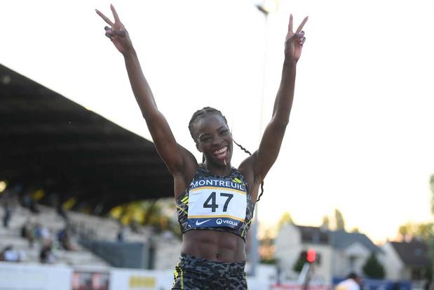 Cynthia Bolingo verpulvert BR van Kim Gevaert op 400 meter en plaatst zich voor Tokio