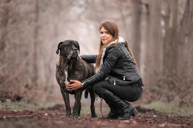 Tessa De Rese start crowdfunding voor operatie van Danka's achterpootjes