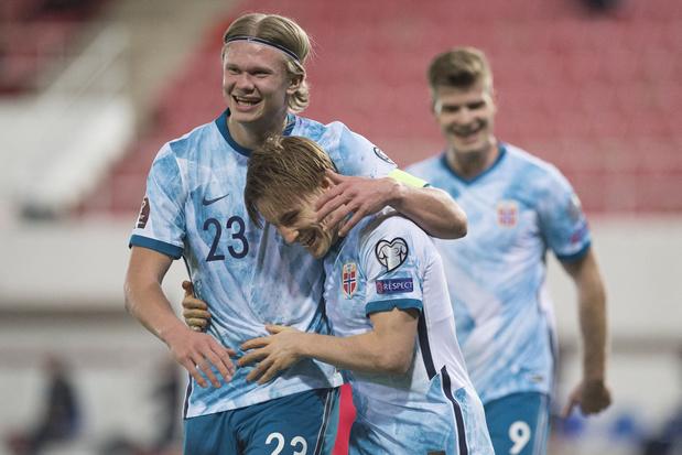 Geen FIFA-sanctie voor Noors elftal na protestactie tegen WK Qatar