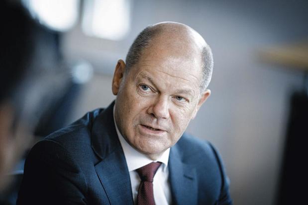 Olaf Scholz: 'De Duitsers willen vooruitgang'