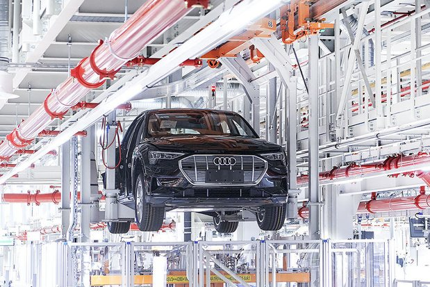 Audi Brussels bereidt heropstart productie voor