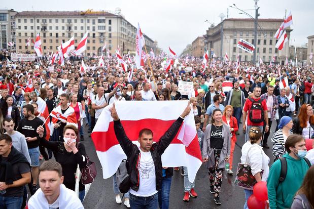 Nieuwe 'Mars voor de Vrijheid' tegen president Loekasjenko