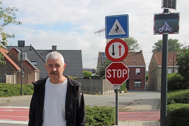 Ledborden voor veiliger schoolverkeer in Zwevegem