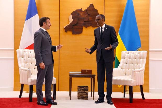 Macron erkent Franse 'verantwoordelijkheid' voor genocide in Rwanda in 1994