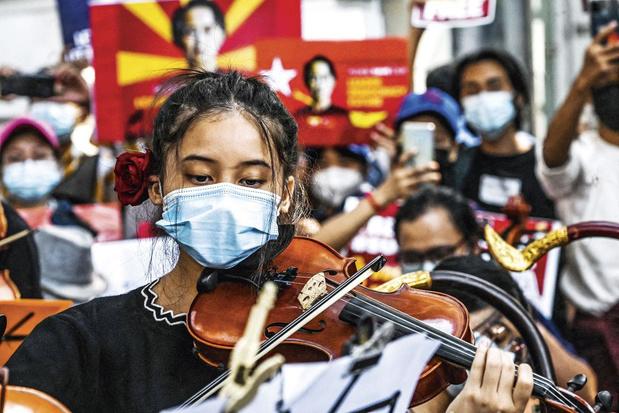 Ko Jimmy, activist in Myanmar: 'De mensen zijn niet meer bang'