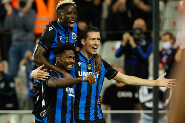 Club Brugge boekt eerste thuiszege tegen Waasland-Beveren