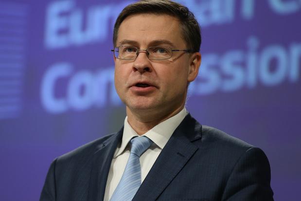 Niet Reynders, wel Dombrovskis: EU heeft nieuwe handelscommissaris