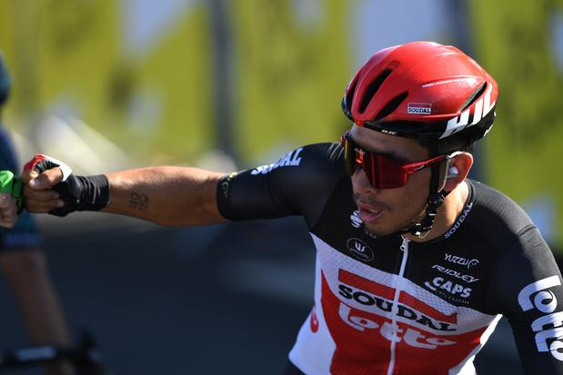 Australiër Caleb Ewan wint de elfde etappe naar Poitiers