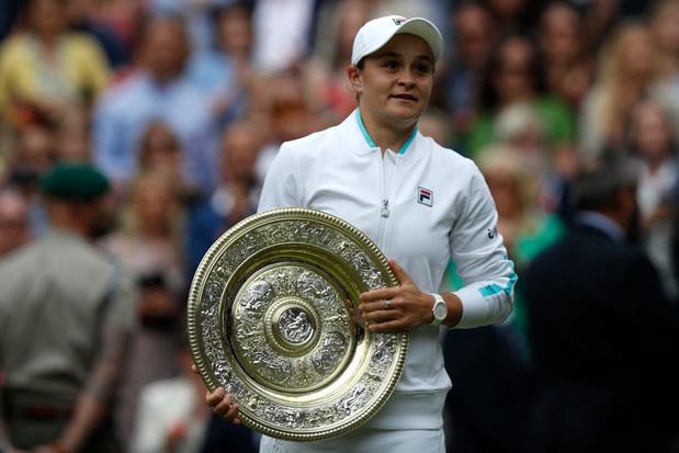 Ashleigh Barty wint Wimbledon en verovert zo haar tweede grandslamtitel