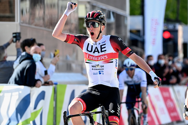 22-jarige Pogacar wint Luik-Bastenaken-Luik