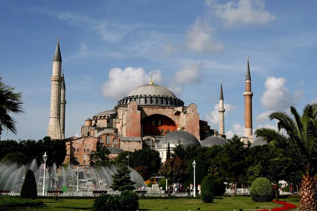 Hagia Sophia wordt weer een moskee