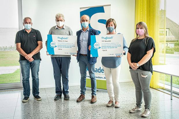 Operatie Proper beloont SK Staden en GVB Oostnieuwkerke