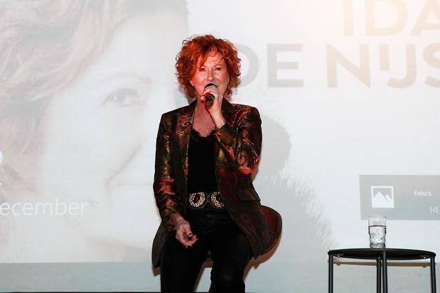 Ida de Nijs betrad als eerste ACE-studio en nam nieuwe single 'Hoop' op