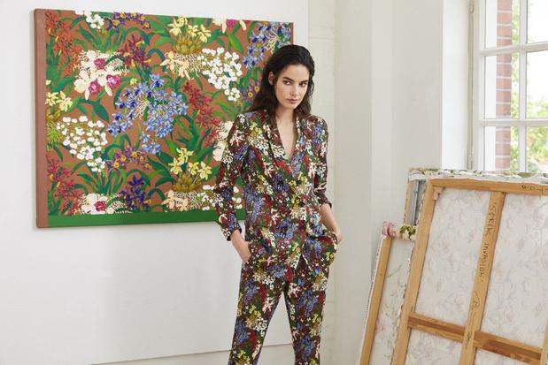 Van kunst naar mode: nieuwe WE-collectie vertaalt schilderijen naar bloemenstoffen