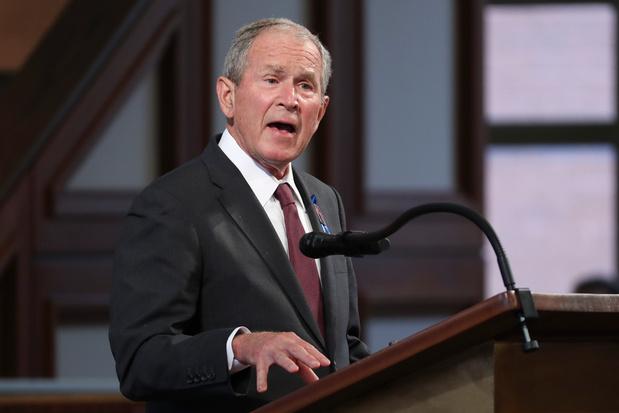 'Taliban zullen burgers afslachten': George Bush kritisch voor vertrek NAVO-troepen uit Afghanistan