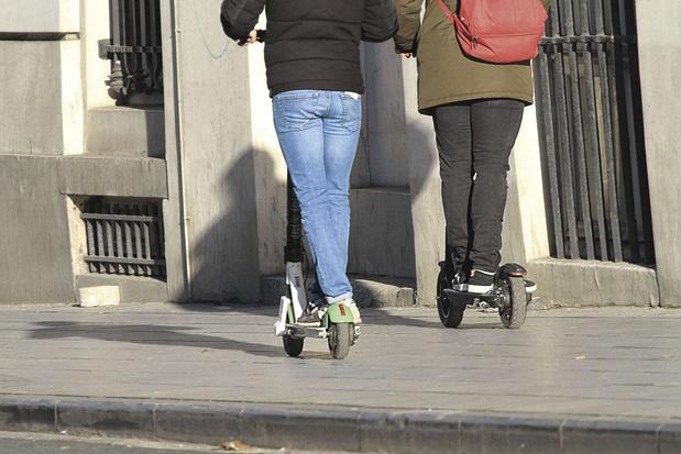 Helm dragen essentieel op elektrische steps