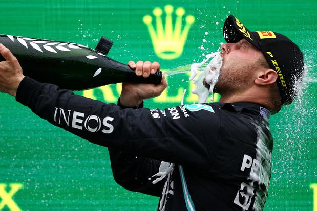 Bottas verzilvert poleposition en wint Grote Prijs van Turkije