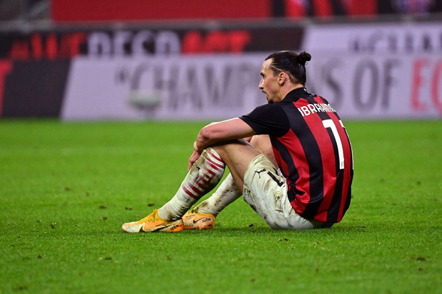 Geen EK voor Ibrahimovic