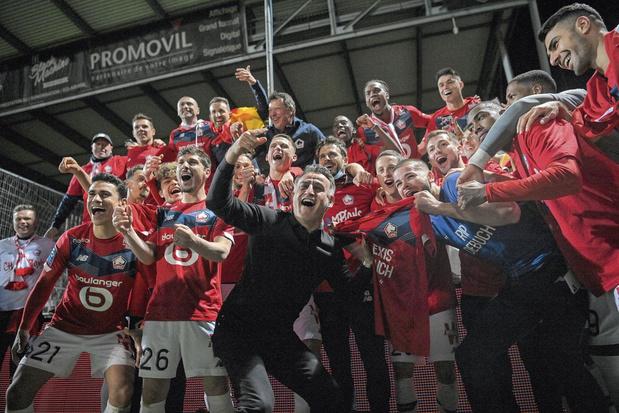 Ligue 1: Lille, ou le titre d'un collectif