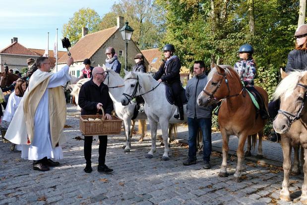 Dit jaar geen Sint-Hubertusviering in Beauvoorde