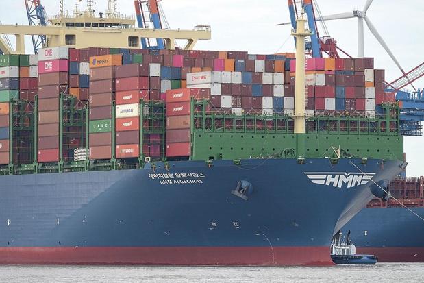 Anvers accueille le plus grand porte-conteneur du monde