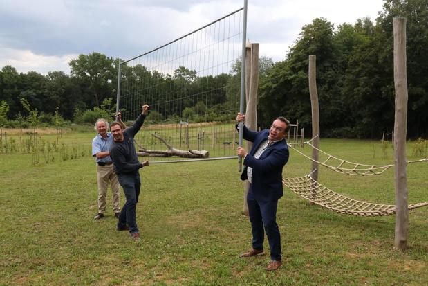 Speelplein bij Kemmelberg officieel geopend
