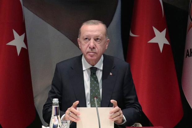 Erdogan roept Cyprus op te onderhandelen over 'tweestatenoplossing'