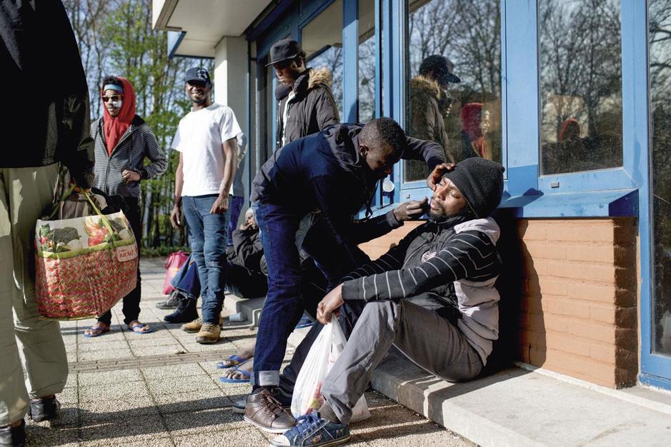 Opvangcentrum voor transmigranten zaait verdeeldheid in Brussel