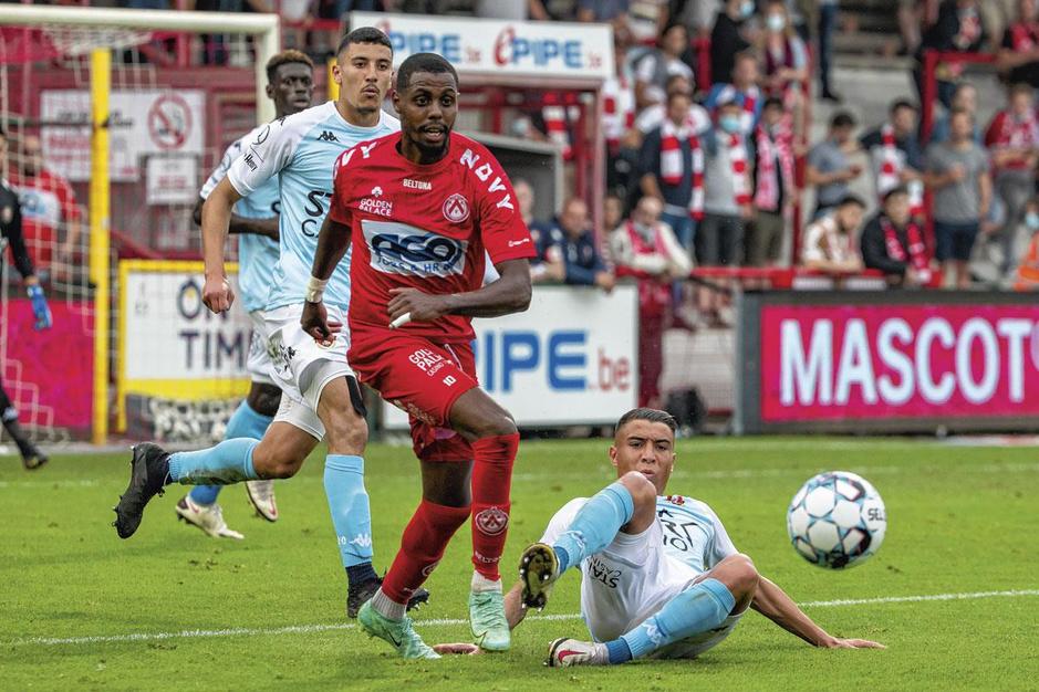 Faïz Selemani: maximaal presteren voor een minimumloon bij KV Kortrijk