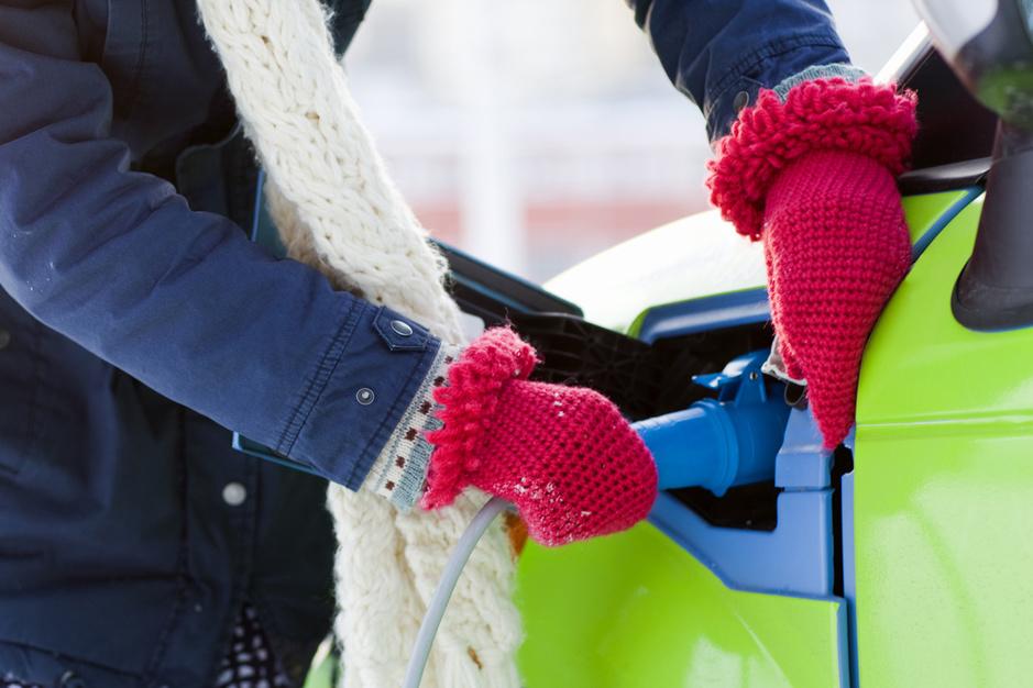 Vriestemperaturen verkleinen autonomie elektrische auto's met 25 à 35 procent